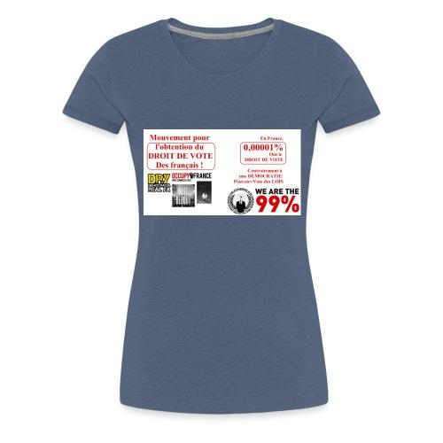 0 0001 jpeg - T-shirt Premium Femme