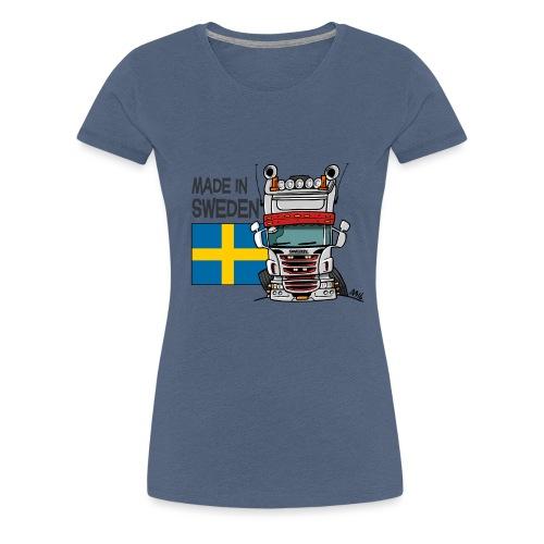 Made in Sweden - Vrouwen Premium T-shirt