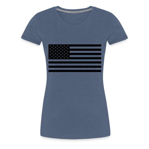 fahne usa - Frauen Premium T-Shirt