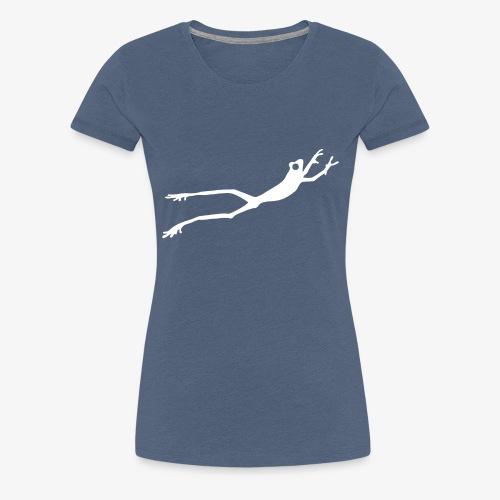 White Frog - Premium T-skjorte for kvinner