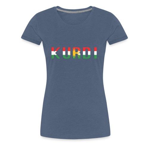 KURDI LOGO - Frauen Premium T-Shirt
