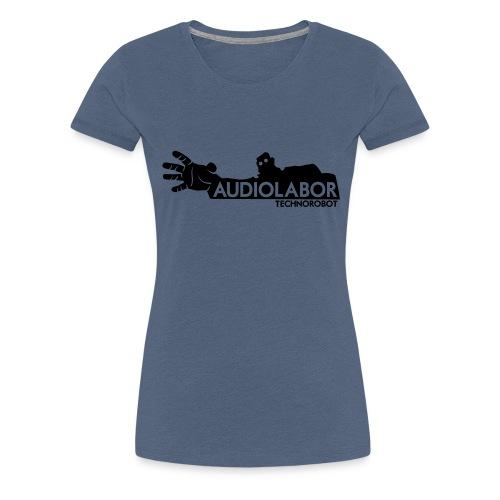 Audiolabor Techno Robot Mens Hoodie - Women's Premium T-Shirt