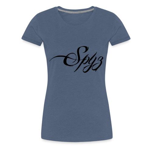Logo vom Rapper Spyz! - Frauen Premium T-Shirt