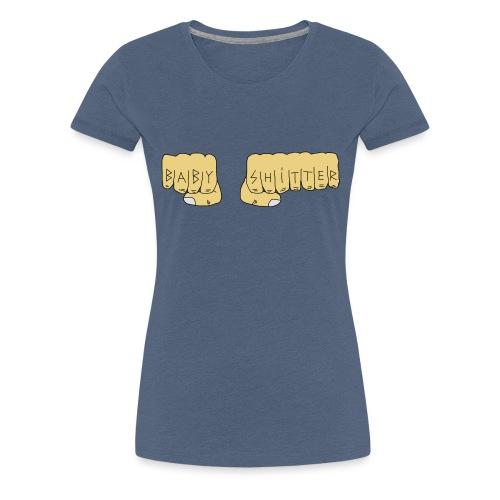 Babyshitter Faust Tattoo - Frauen Premium T-Shirt