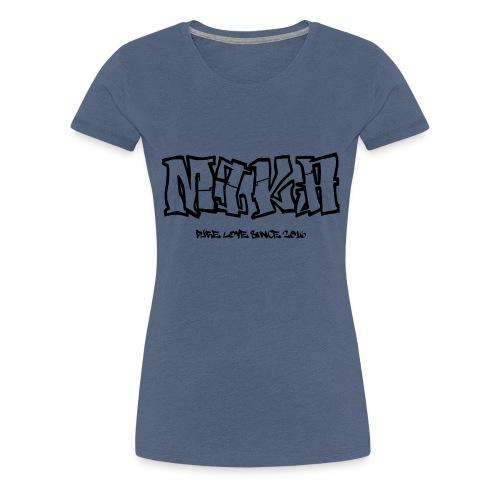 new Idea 128292278 - Frauen Premium T-Shirt