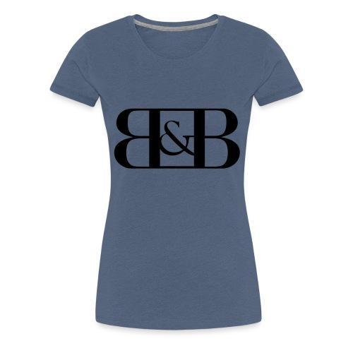B B - Vrouwen Premium T-shirt