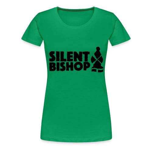 Silent Bishop Logo Groot - Vrouwen Premium T-shirt