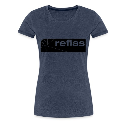 Reflas Clothing Black/Gray - Maglietta Premium da donna