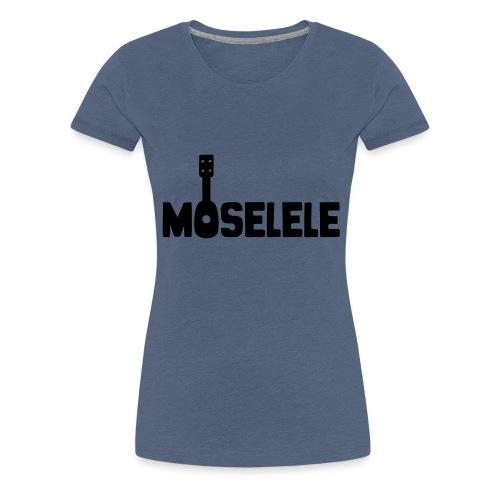 moselelelogoblack - Women's Premium T-Shirt