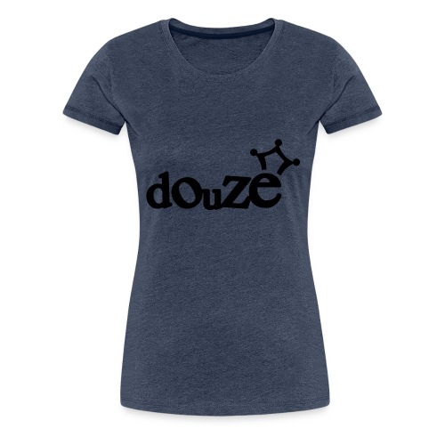 logo_douze - T-shirt Premium Femme