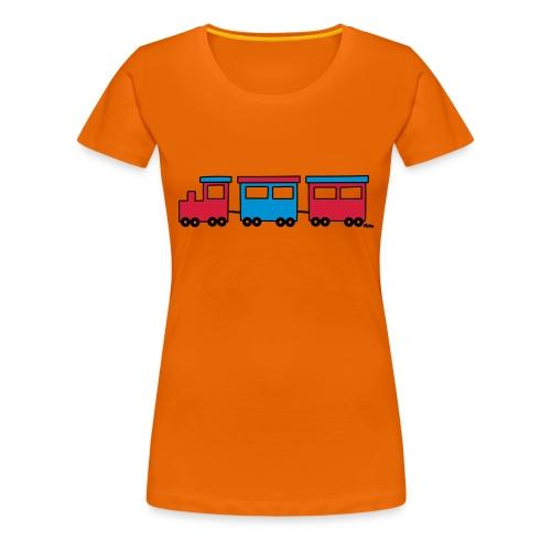 Zug (c) - Frauen Premium T-Shirt