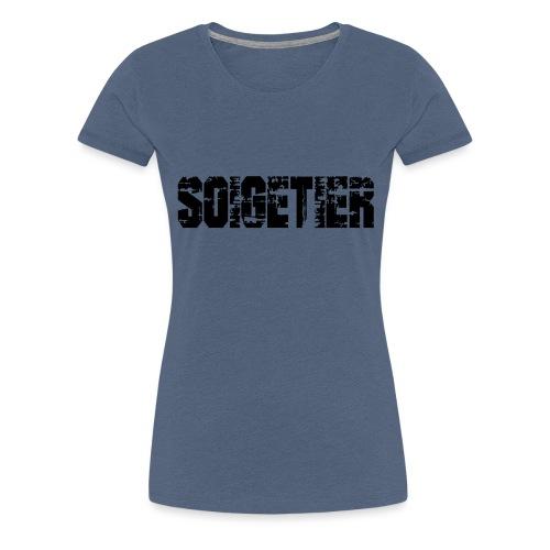 logo bad1 - Frauen Premium T-Shirt