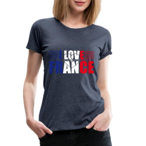 love france - T-shirt Premium Femme