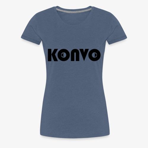 Konvo Brand - T-shirt Premium Femme