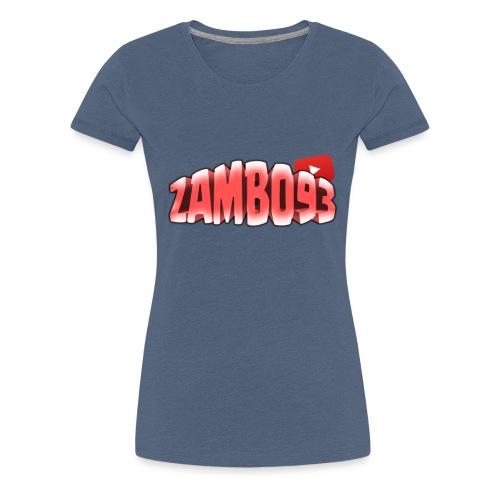 ZAMBO93OFFICIAL - Maglietta Premium da donna