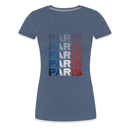 Paris, France - Women's Premium T-Shirt
