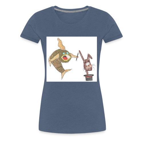Karlo_Karpe_-_Harry_Hare-jpg - Dame premium T-shirt