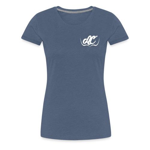 Logo Personal AC CLOTH Blanco - Camiseta premium mujer