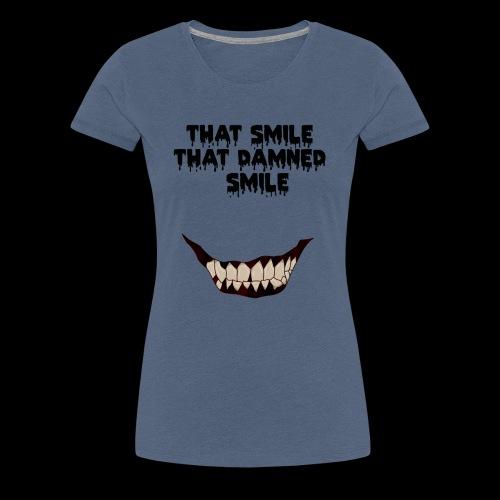 13 reasons why horror smile - Maglietta Premium da donna