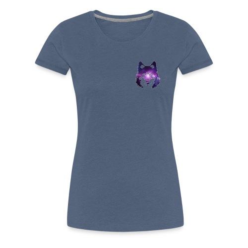 Galaxy wolf - T-shirt Premium Femme