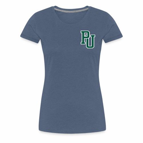 PU initialen - Vrouwen Premium T-shirt