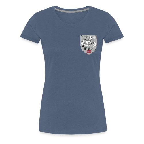 Narvik Norway coat of arms - Women's Premium T-Shirt