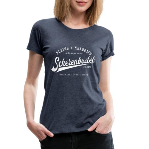 Scherenbostel Retrologo - Frauen Premium T-Shirt