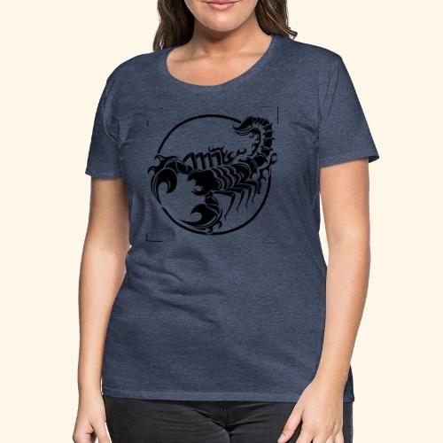 ESCORPION TRIBAL - Camiseta premium mujer