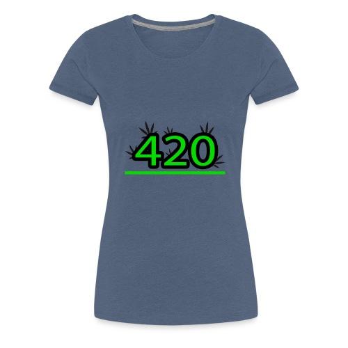 420 - T-shirt Premium Femme