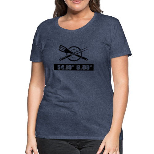 54Grad9 - Frauen Premium T-Shirt