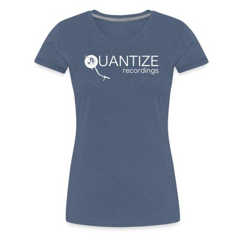 Quantize White Logo - Women's Premium T-Shirt