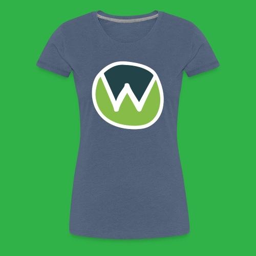 wtr-main-logo_RGB - Women's Premium T-Shirt
