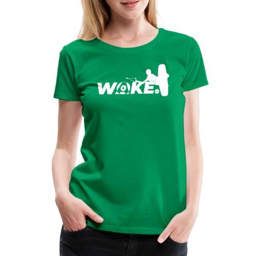 WOKEboard - Maglietta Premium da donna