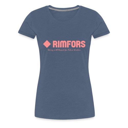 Rimfors bamboo ski poles - Premium-T-shirt dam