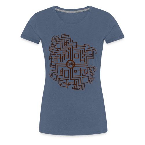 MacroAbstract PdB1 - T-shirt Premium Femme
