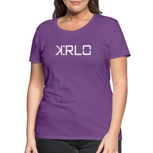 Kirlo Logo Blanco - Camiseta premium mujer