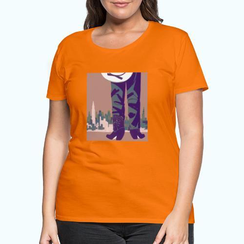 Texas vintage travel poster - Women's Premium T-Shirt