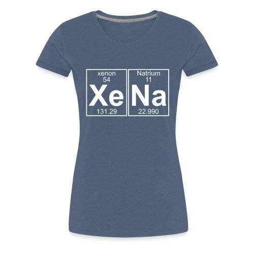Xe-Na (xena) - Women's Premium T-Shirt