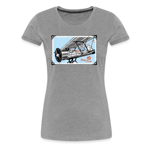 Doppeldecker - Frauen Premium T-Shirt