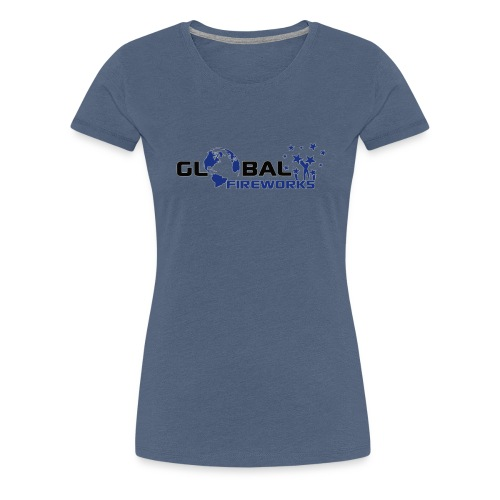 Global Fireworks - Frauen Premium T-Shirt