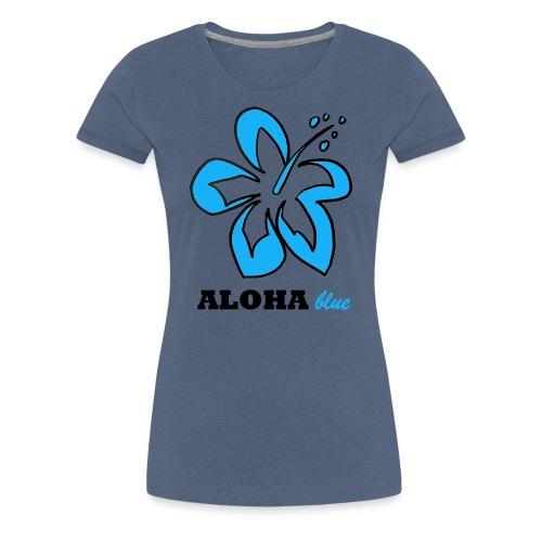 Hi Flower - Frauen Premium T-Shirt