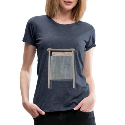 Vaskebræt - sixpack - Dame premium T-shirt