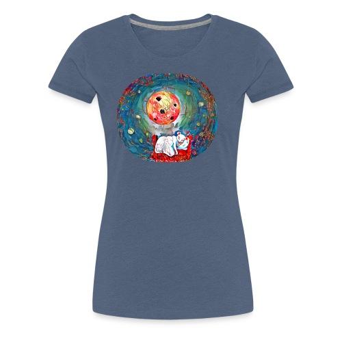 raton con suen o - Camiseta premium mujer