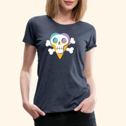Crane glacée - T-shirt Premium Femme