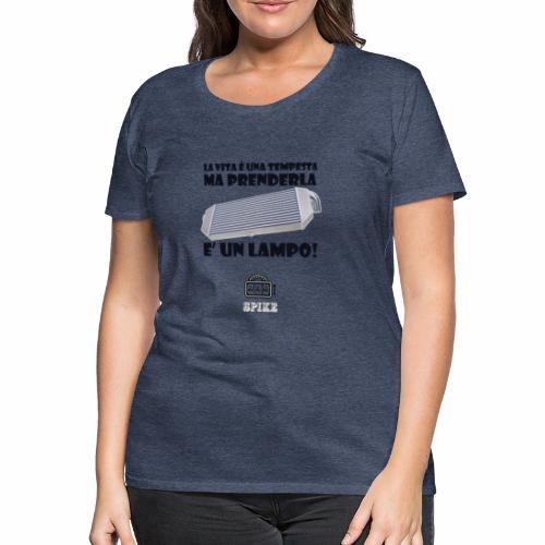 INTERCOOLER (nero) - Maglietta Premium da donna