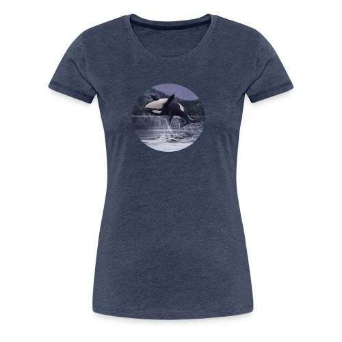 Beauty of a Killer - Dame premium T-shirt