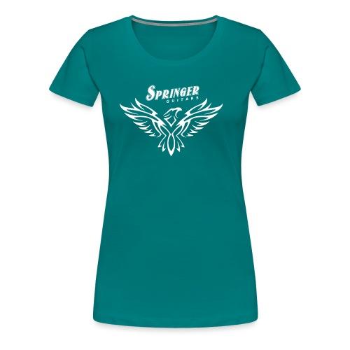Springer FireHawk white - T-shirt Premium Femme