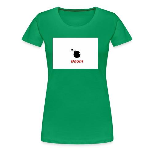 Bomba - Koszulka damska Premium
