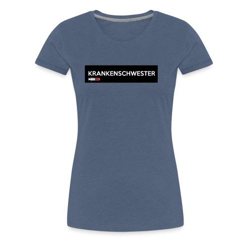 Krankenschwester mit Spritze - Frauen Premium T-Shirt