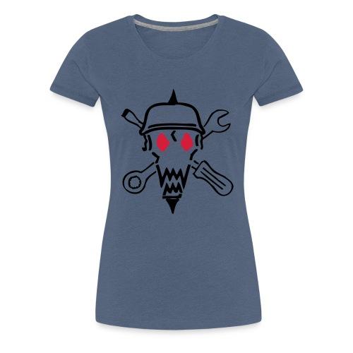 kopf ohne mc cs2 - Frauen Premium T-Shirt